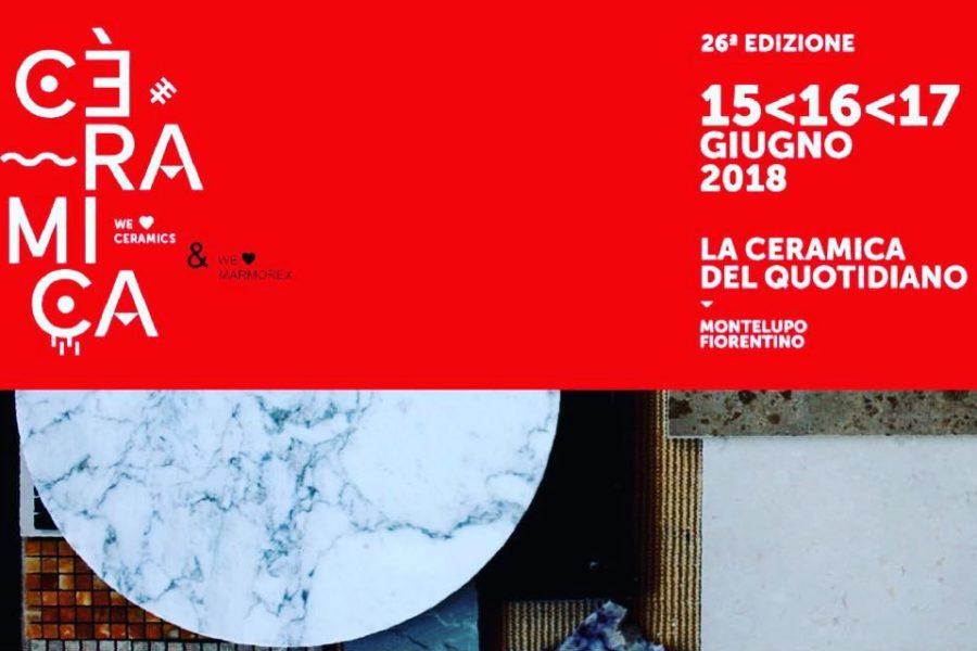 Marmorex protagonista a FORMAE – Mostra Mercato di Alto Artigianato & Design ceramico.