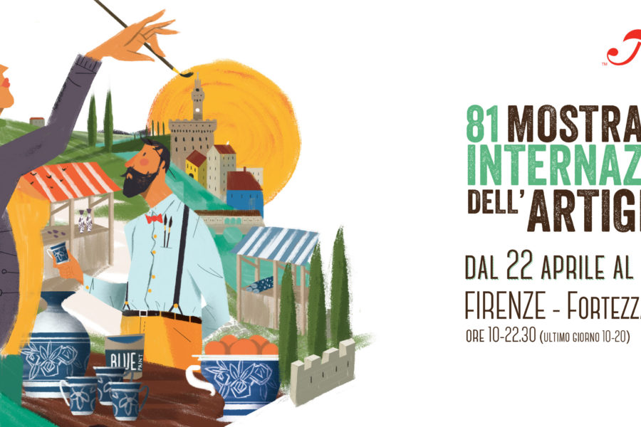 Il nostro bis alla Mostra Internazionale dell'Artigianato di Firenze. Partecipazione di successo al villaggio globale delle arti e dei mestieri.